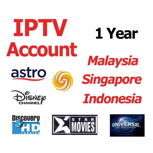 IPTV account for android tv box