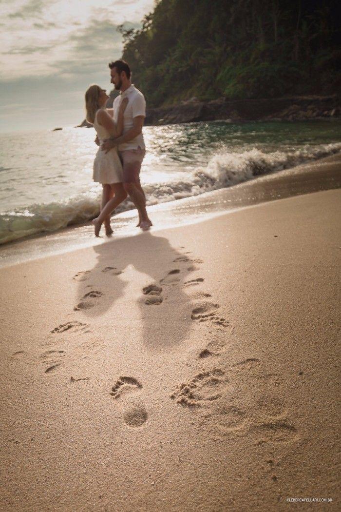 Pré wedding na praia do Guarujá