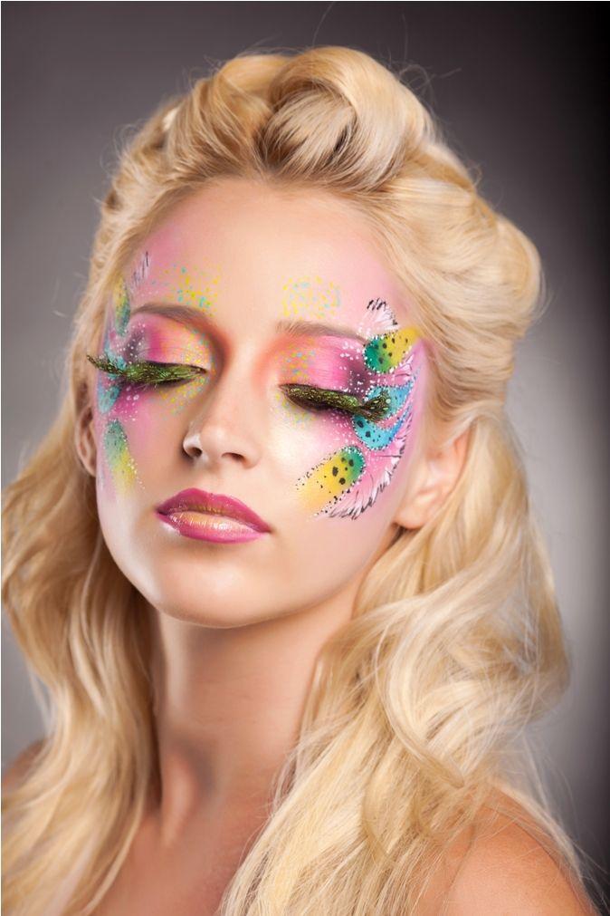 Zolotashko Make Up School  Fantasy   Colors   MUA