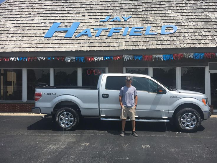 Craig's new 2013 ford f150! Congratulations and best wishes from Jay Hatfield Ford and David Harrison.