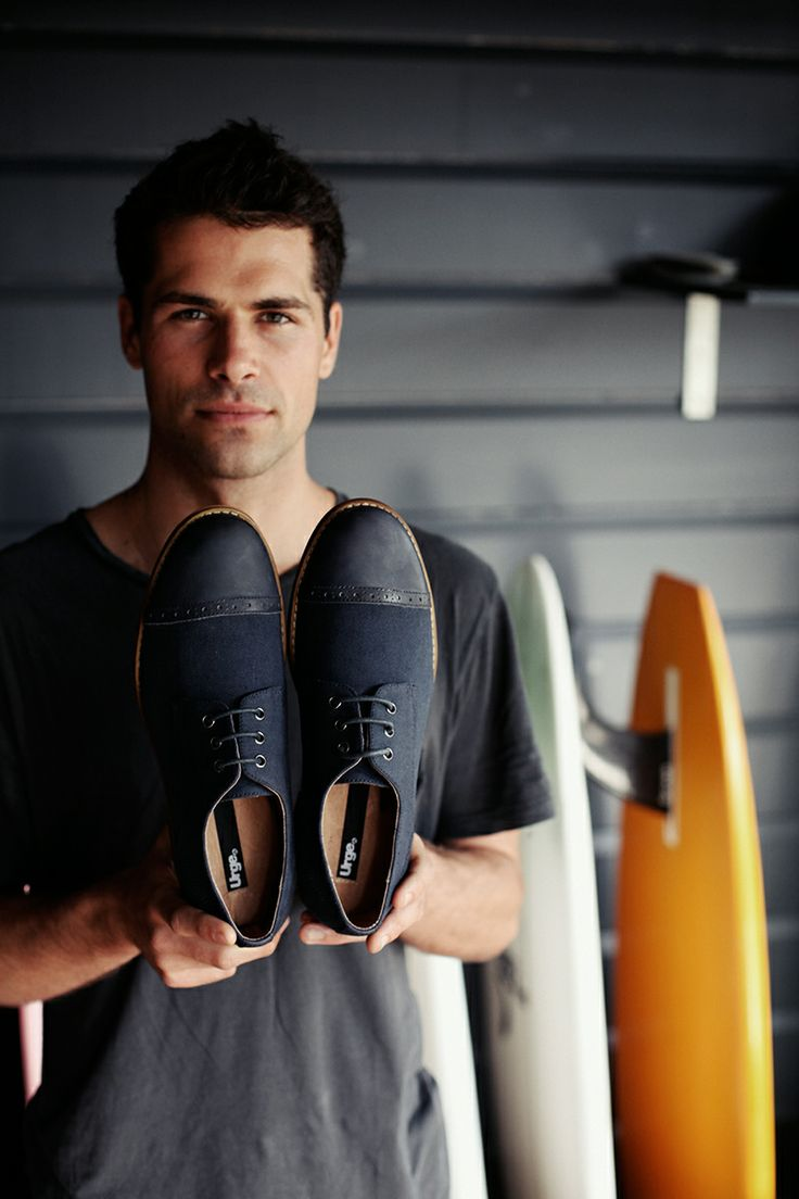 ::: HALLE ::: A classic derby shoe with vintage leather toe-piece, finished with subtle punch detail. $139.95 http://www.urgefootwear.com.au/mens-shoes-online/halle-black-canvas