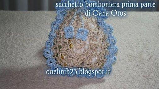 tutorial sacchetto bomboniera di.. Oana Oros Prima parte...