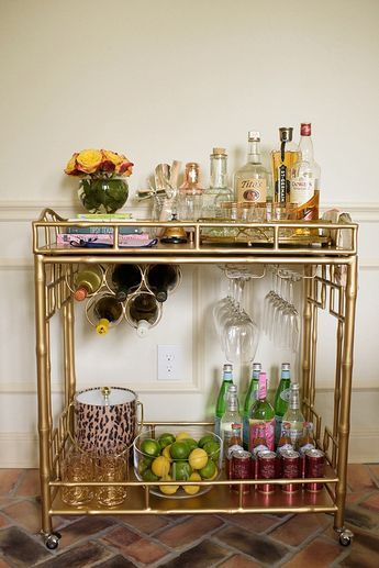 16 best Barwagen-styling images on Pinterest Bar cart, Bar carts
