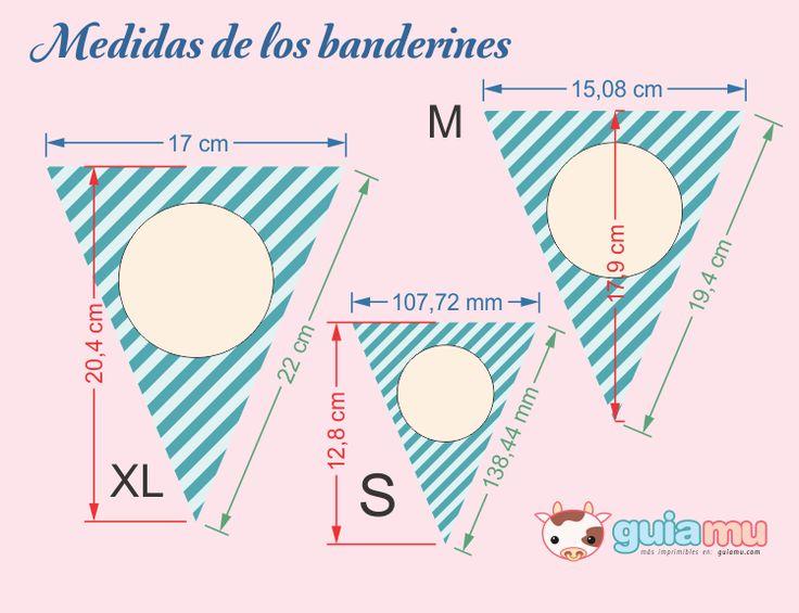 Banderines Imprimibles Gratis - Cumpleaños Infantiles GuiaMu