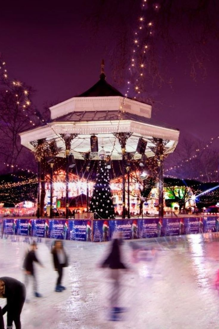 Ice Skating In Winter Wonderland Hyde Park Best Places To Ice Skate In London