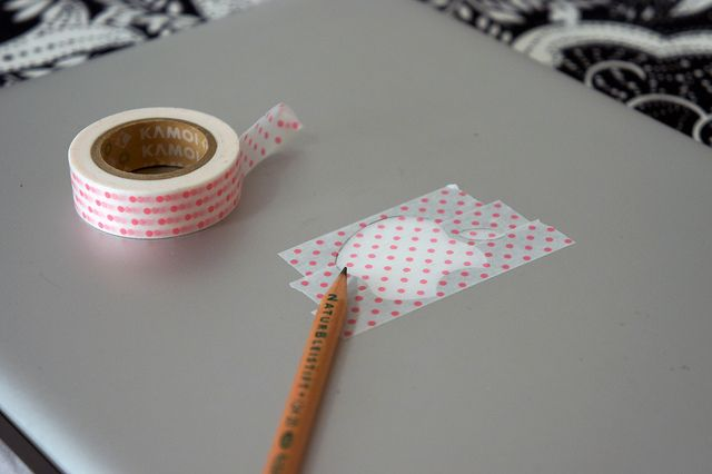 Pimp Your Mac - with this quick washi tape fix!