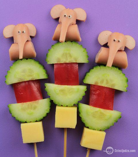Słonie / elephants (food for kids)
