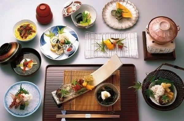 Салаты японской и тайской кухни