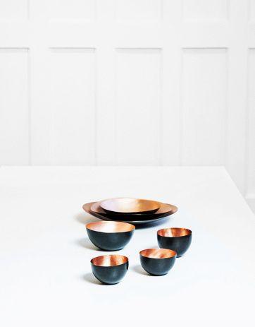 Bowls Tall Copper | Nyheter | Artilleriet | Inredning Göteborg