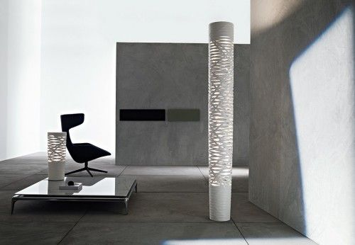 Foscarini Tress Terra grande LED white