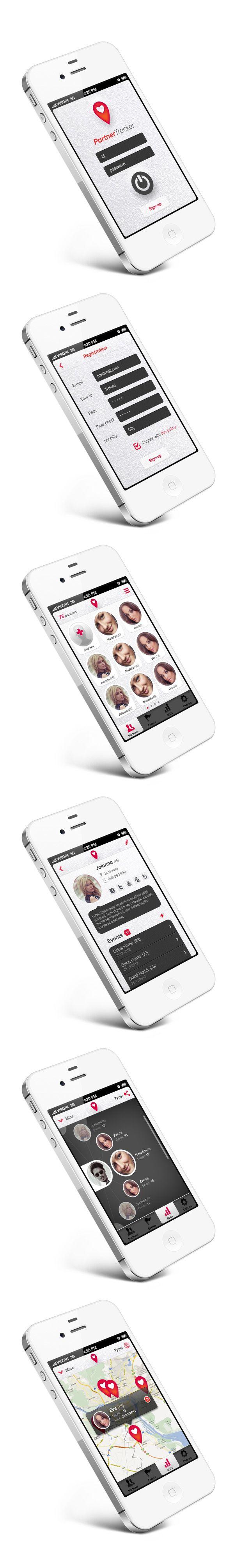 Partner Tracker App / Martin Schurdak