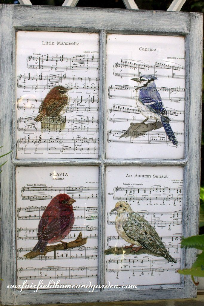 Recycled Window Picture Frame ~ Our Fairfield Home and Garden | Hometalk