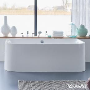 Duravit Happy D.2 bath back-to-wall version L: 180 W: 80 H: 48 cm