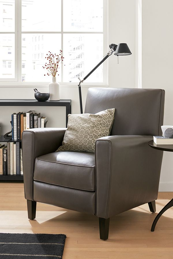 Our Harper recliner is the perfect chair for your cozy corner.