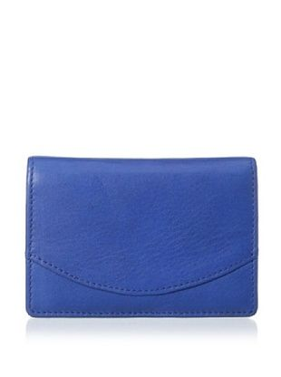 48% OFF Tusk Women's Donington Napa Business Card Holder, Cobalt Blue