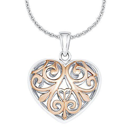 #s.Oliver #jewel #love #rosegold #schmuck #casual #Blogger #style #Fashion #kette #Herz #Herzkette #bicolor #wendekette