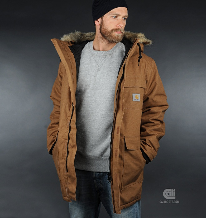 One of my favorite jacket. The Siberian Carhartt jacket.