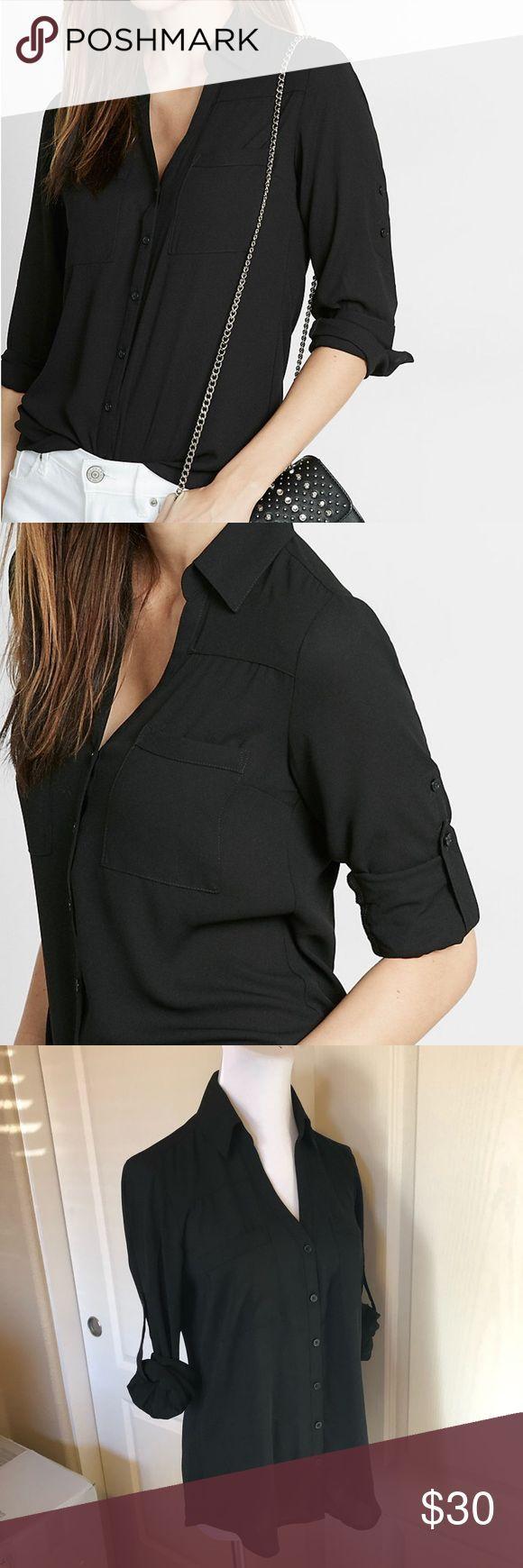 Express Black Slim Fit Portofino Shirt Small Express slim fit Portofino shirt. S… – Gerwalta Schlafzimmer