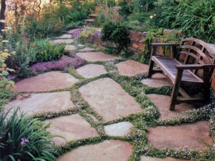 289 Best Images About Stone Patio Ideas On Pinterest