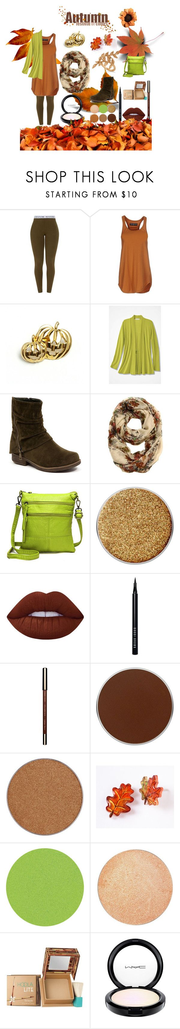 """""""Comfy Fall"""" by wildorchid21-1 ❤ liked on Polyvore featuring Department 5, CheckList, Suva Beauty, Lime Crime, Bobbi Brown Cosmetics, Clarins, Anastasia Beverly Hills, ittse, Benefit and MAC Cosmetics"""