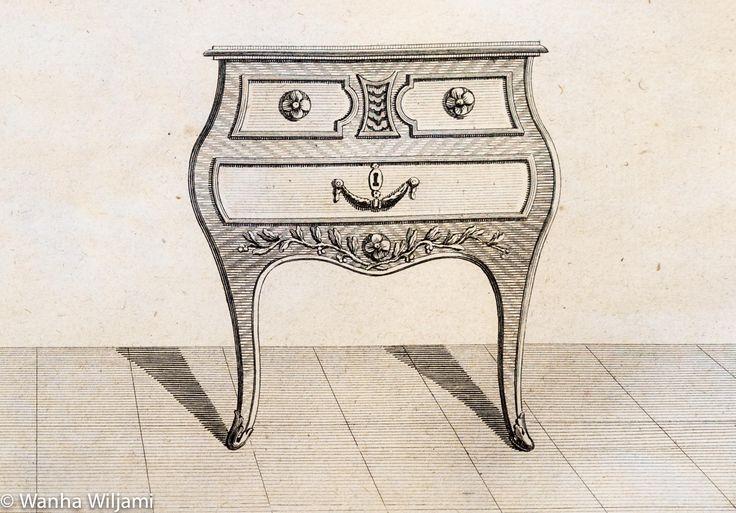 Kuparipiirros 1700-luvulta