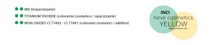 Correttore Yellow Neve Cosmetics - Review Swatches e INCI
