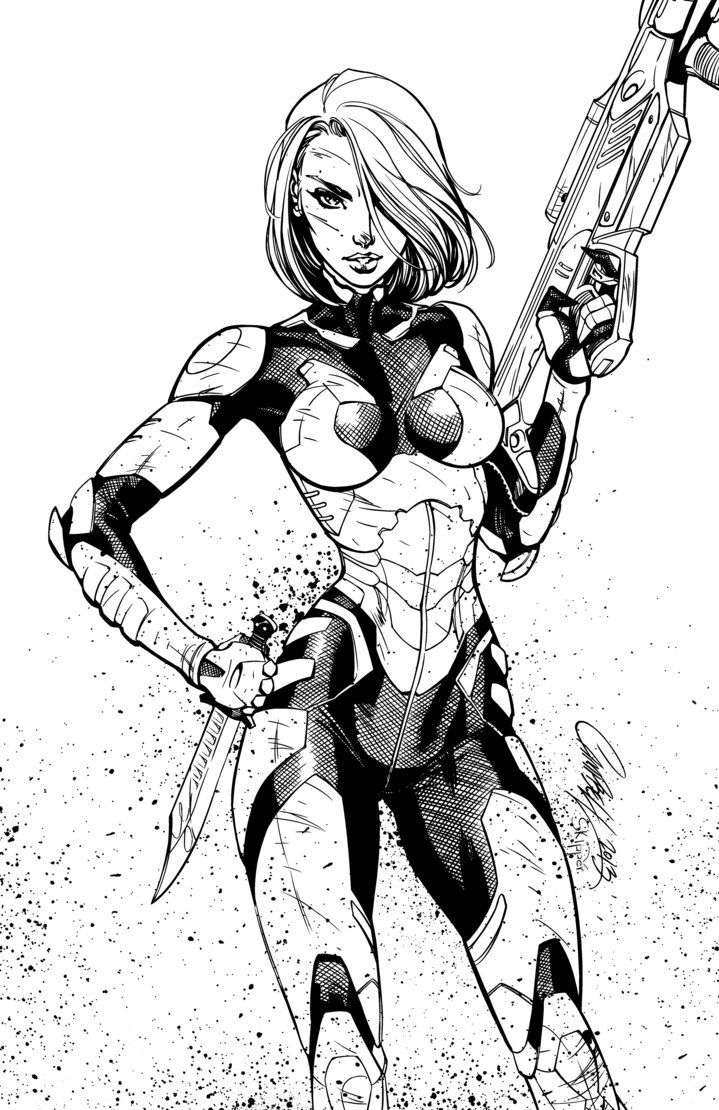 j scott campbell how to draw