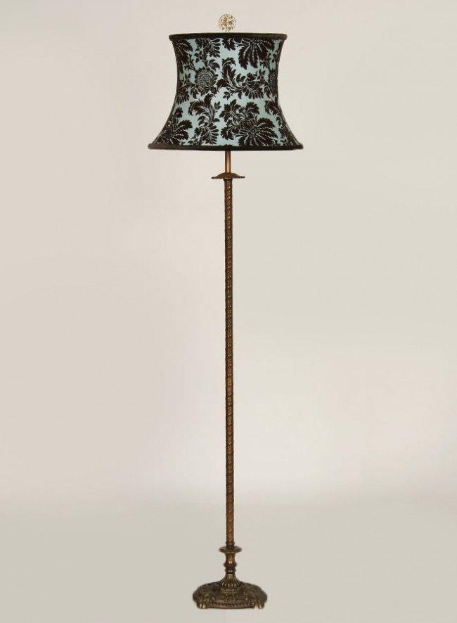 Antique floor lamps design