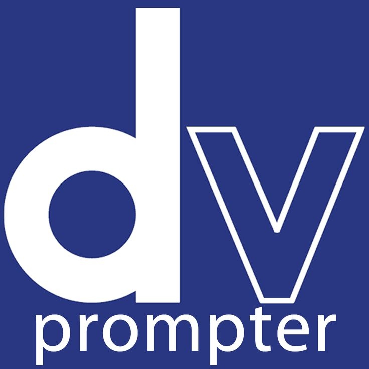 dv Prompter is a full function teleprompter scripting
