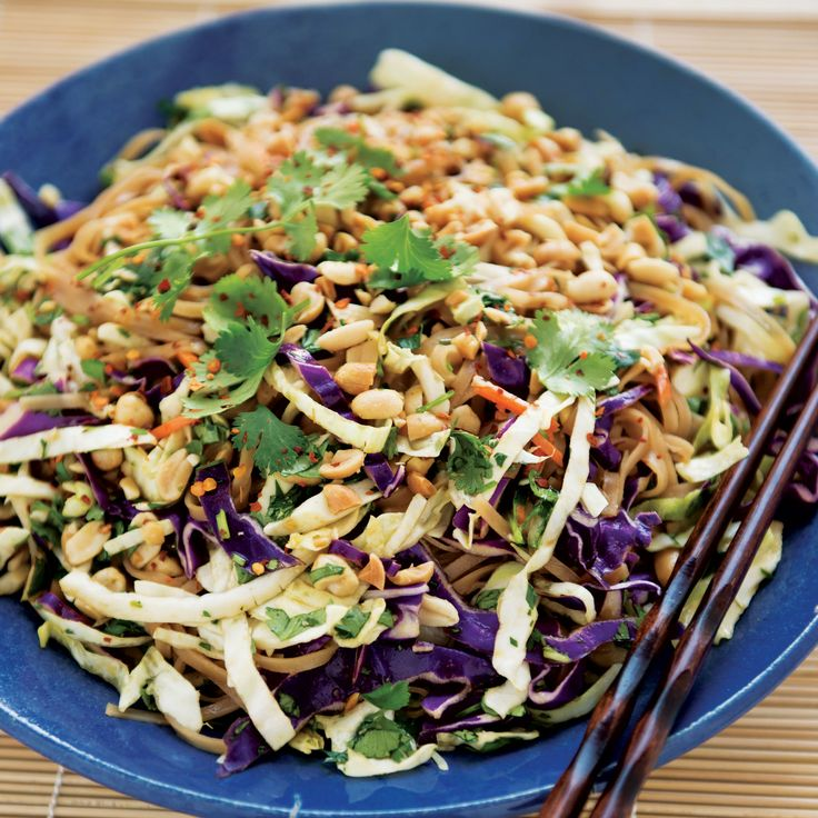 How to Make a Super-Easy Asian Rice Noodle Salad