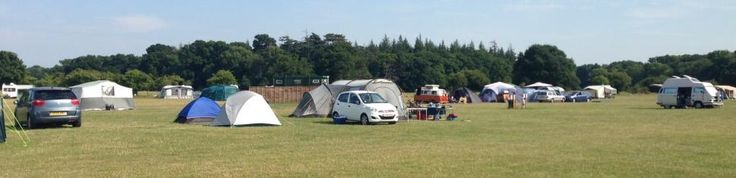 Long Meadow Campsite, Brockenhurst in the New Forest. Very friendly, lovely grassy site with outstanding facilities! Top notch!