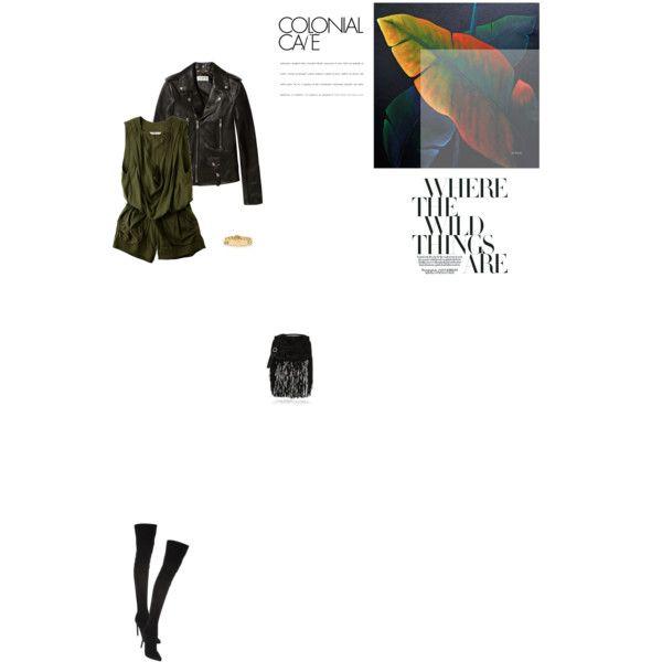 Bez tytułu #78 by izabelmaz on Polyvore featuring moda, Yves Saint Laurent, Tsumori Chisato, Emilio Pucci, Pierre Hardy, Tiffany & Co. and Ren-Wil