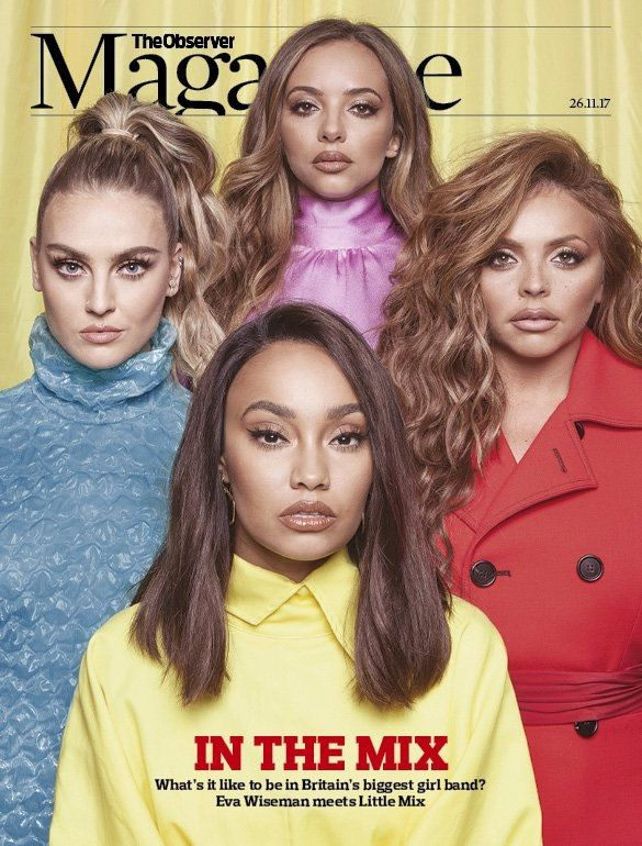 Little Mix on the cover of a Magazine Observe  #magazine #LITTLEMIX #photosoot #celebrity #famous #star #singer #cover #issue #observe #observemagazine #cool #great #pretty #perriedward #beautiful #pretty #mice #lovely #perfect