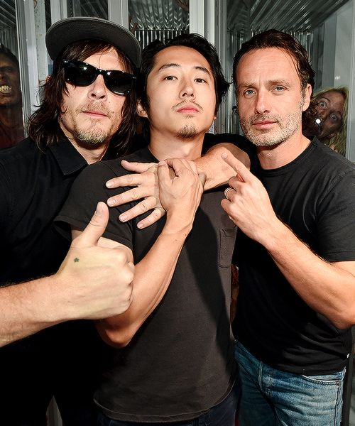 Norman, Steven and Andrew