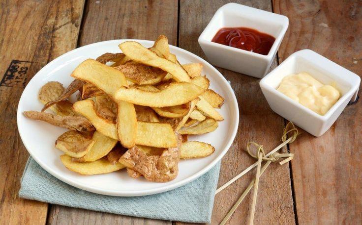 Bucce di patate fritte ricetta