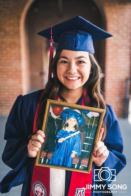 University of Arizona Senior Grad Graduation Picture picture frame idea