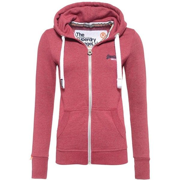 Superdry Orange Label Primary Zip Hoodie ($67) ❤ liked on Polyvore featuring tops, hoodies, pink, women, orange hoodie, pink hoodie, zip hoodies, zip hoodie and hooded zip up sweatshirt