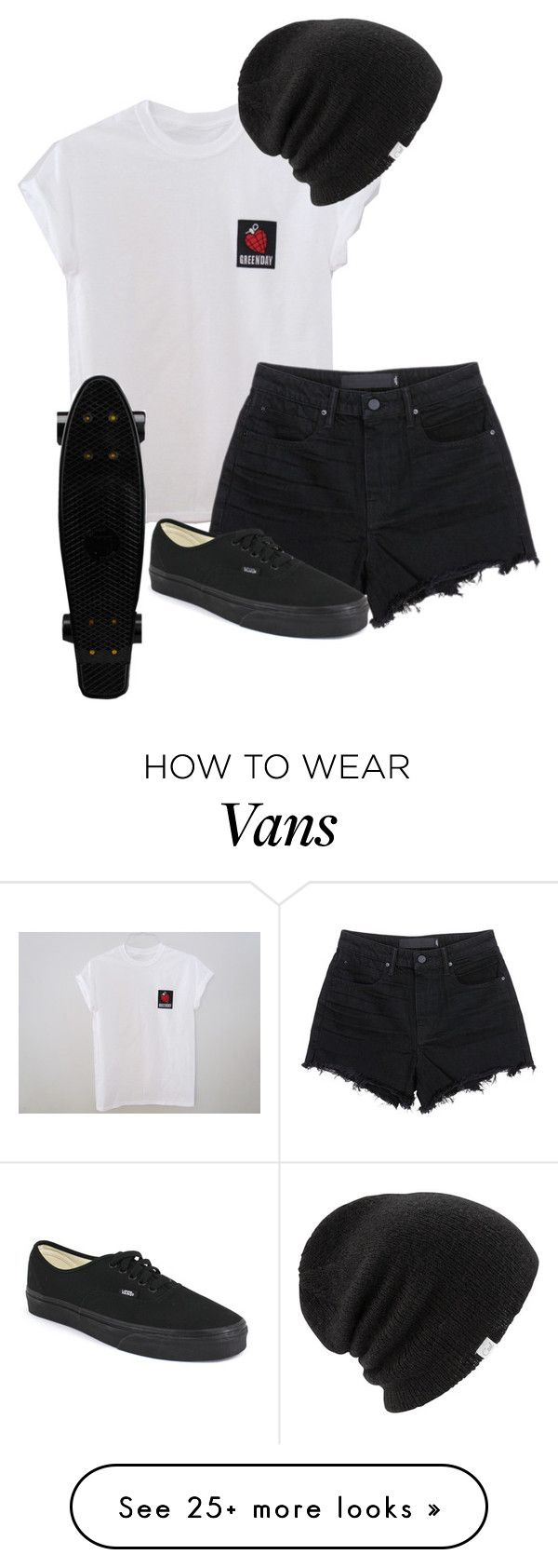 """Untitled #607"" by bands-are-my-savior on Polyvore featuring T By Alexander Wang, Vans and Coal"