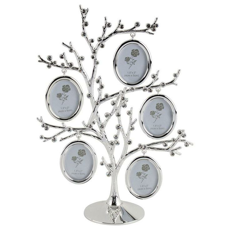 Metal tree/ photo frame
