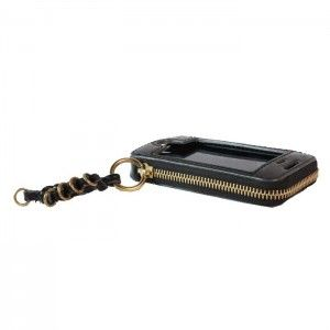 Chloe Leather Cell Phone Iphone Case/Wristlet
