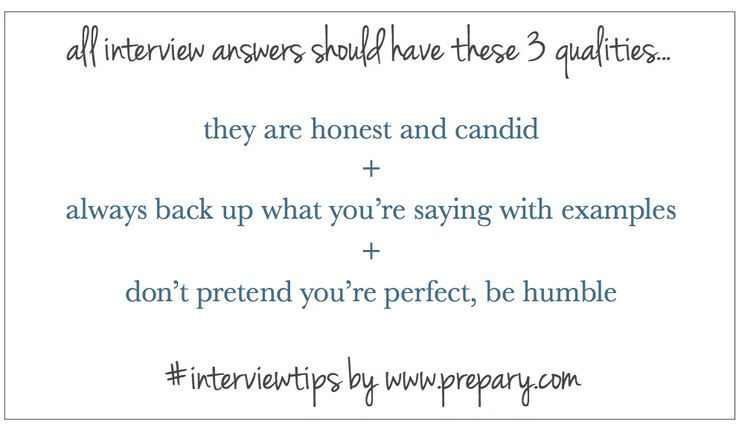 Interview Tips : What all good interview answers have in common #interviewtips #job #careeradvice