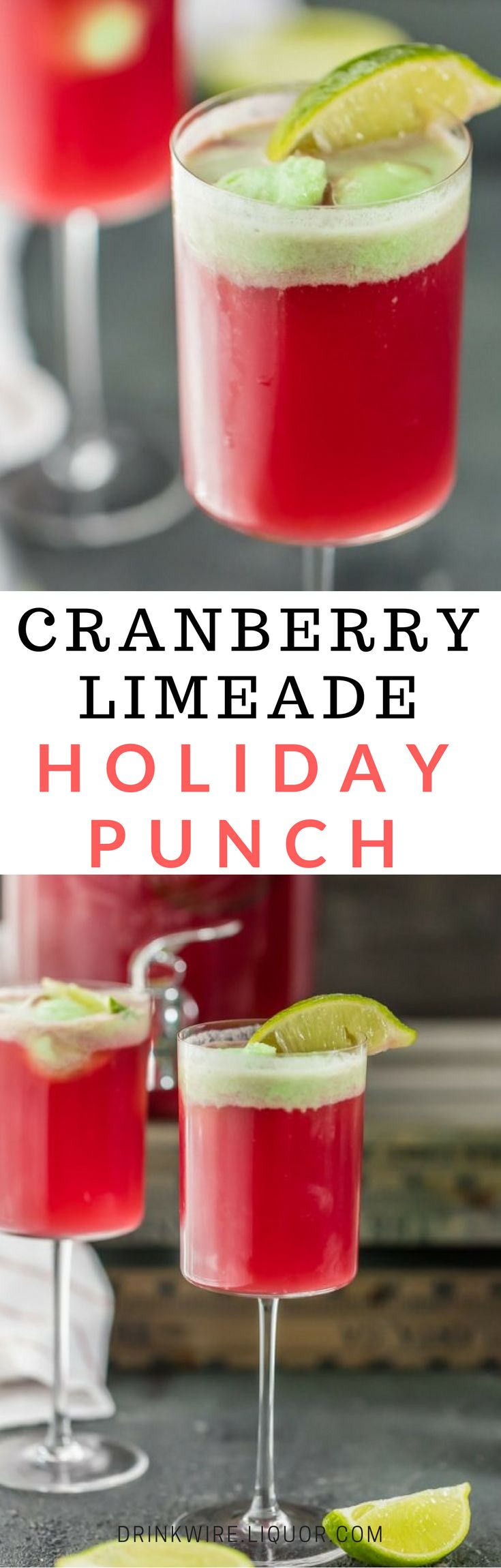 The perfect #holiday champagne punch to make for a crowd this holiday season and New Years Eve; and really for any celebration you have coming up!