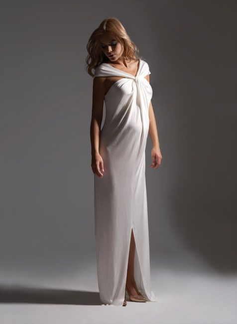 Maternity Bridesmaid Dress or a simple dress for a more intimate wedding or even a beach wedding!