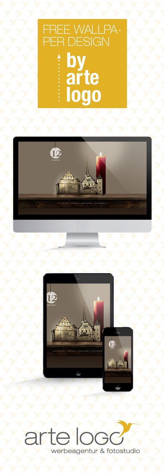 Free Wallpaper for Desktop, iPhone and iPad by arte-logo.de Free Download, Kalender 2016, selfmade, DIY, Dezember, Schlitz, Weihnachtskerze, Hinterturm, Größte Kerze der Welt, Burgenstadt, Fachwerk, Ringmauer, Weihnachtsmarkt, Vogelsbergkreis, Hessen