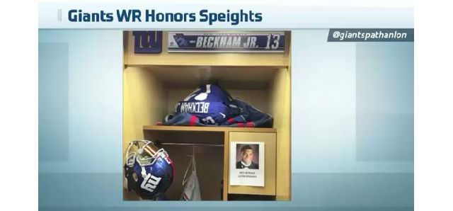 New York Giants Odell Beckham Jr Pays Tribute To Orange County New York Firefighter who was stabbed and killed trying to break up a fight on NYE http://ift.tt/1PG22QM Love #sport follow #sports on @cutephonecases