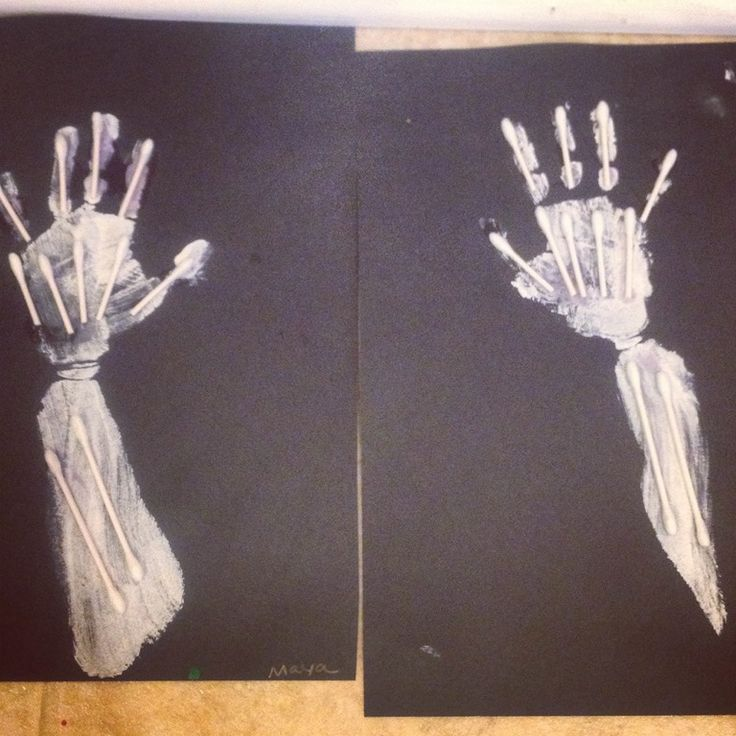 crafts how to make human x-rays