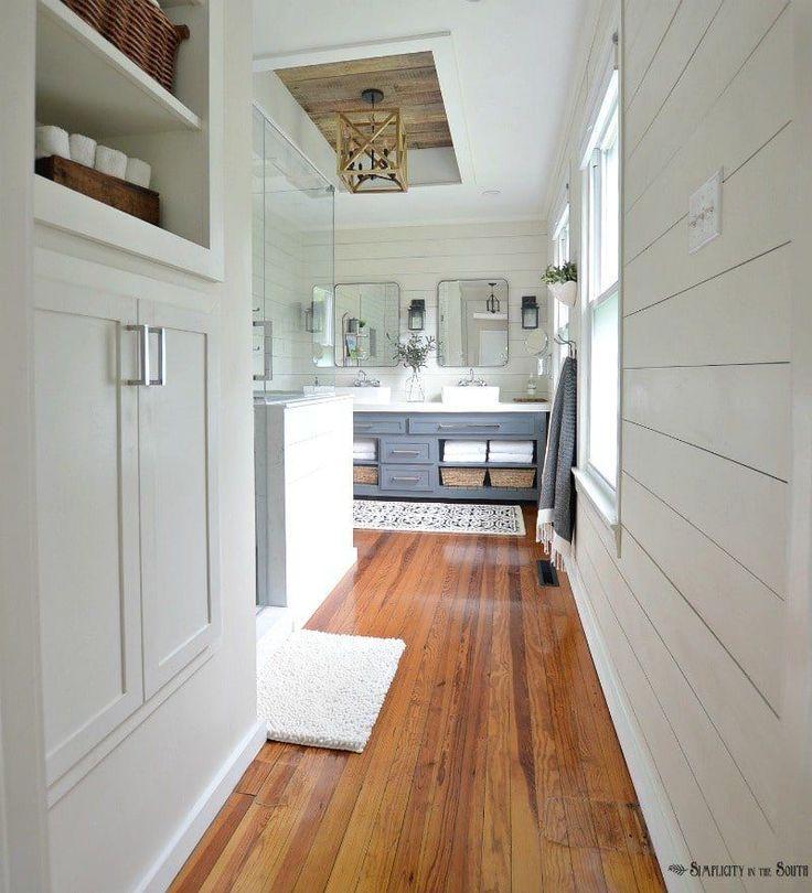 Shiplap Bathroom Vanity: Best 25+ Shiplap Master Bathroom Ideas On Pinterest