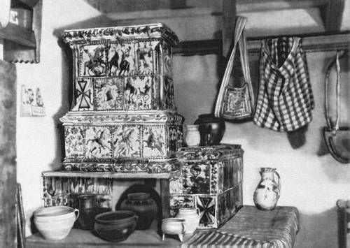 Хата с изразцовой печью (Косов)