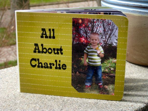 Custom adoption board book