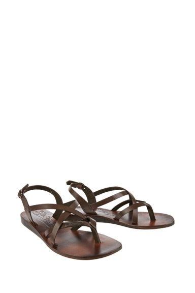 "Sandals ""Tarifa"", Dark brown - SUPERDRY -"